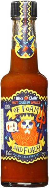 Mic's Chilli Hot Double IPA of Foam and Fury Sauce