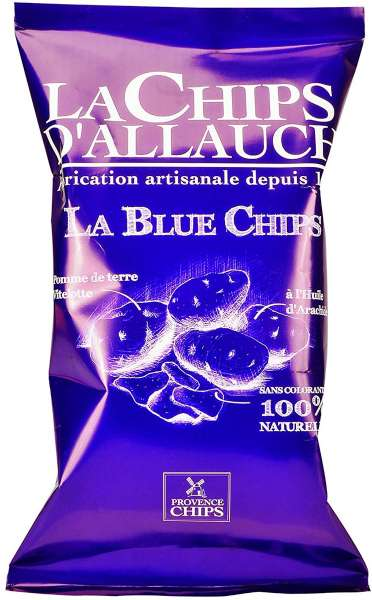 La Chips d'Allauch La Blue Chips, Blaue Chips