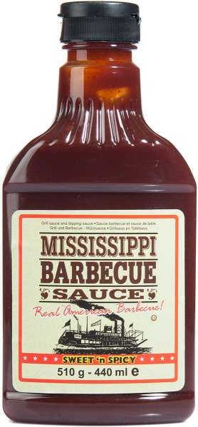 Mississippi Barbecue Sauce - Sweet n Spicy BBQ Flavour