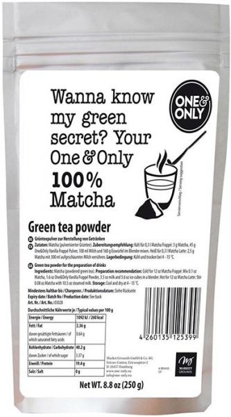 one & only Matcha Powder