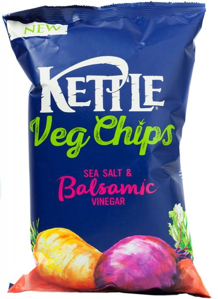 Kettle Veg Chips Sea Salt & Balsamic