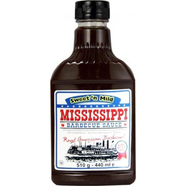 Mississippi Barbecue Sauce - Sweet n Mild BBQ Flavour