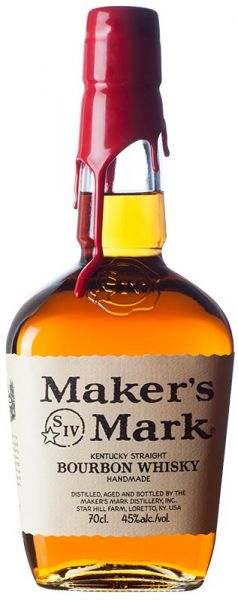 Makers Mark Red Wax Kentucky Straight Bourbon Whiskey